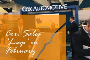 Cox: Sales 'Leap' in February