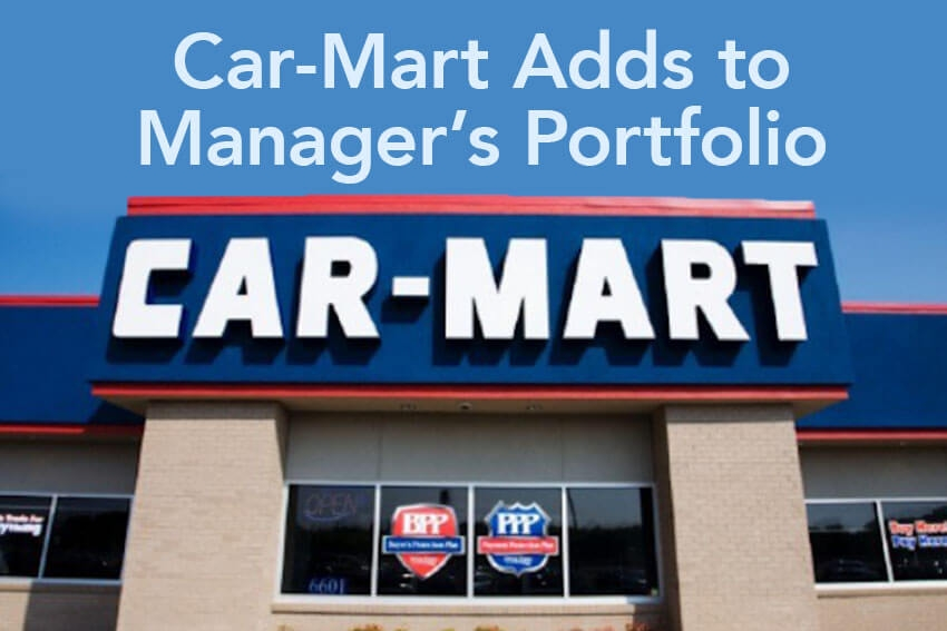 Car-Mart Adds to Manager's Portfolio
