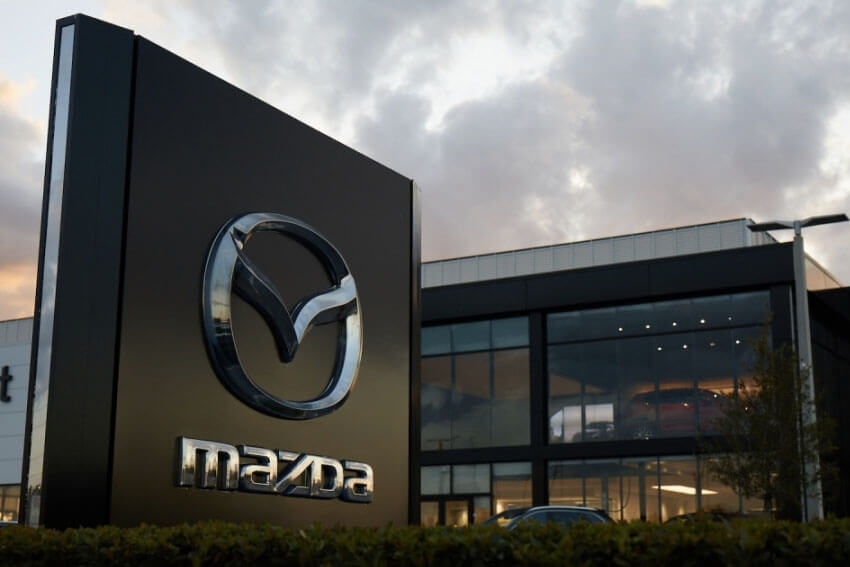 Mazda Reports Sales Increase