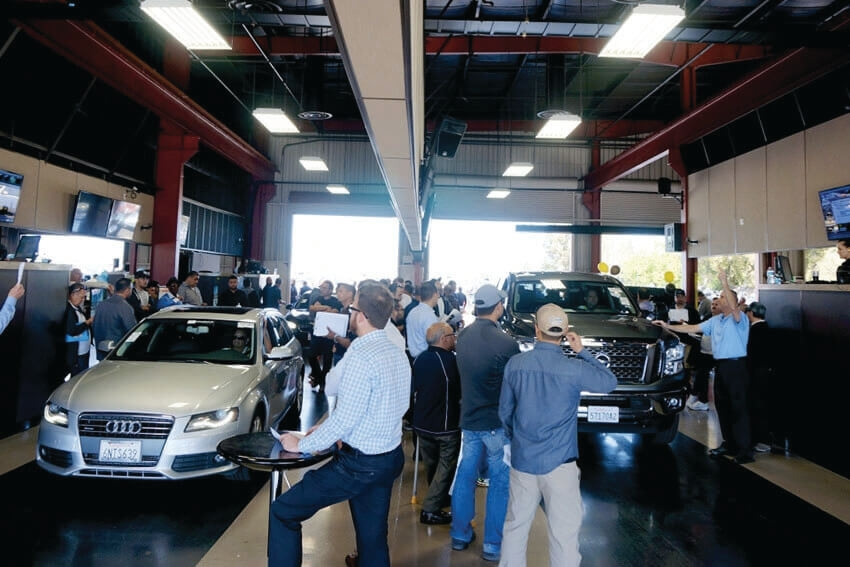 Manheim Expands In-Lane Bidding