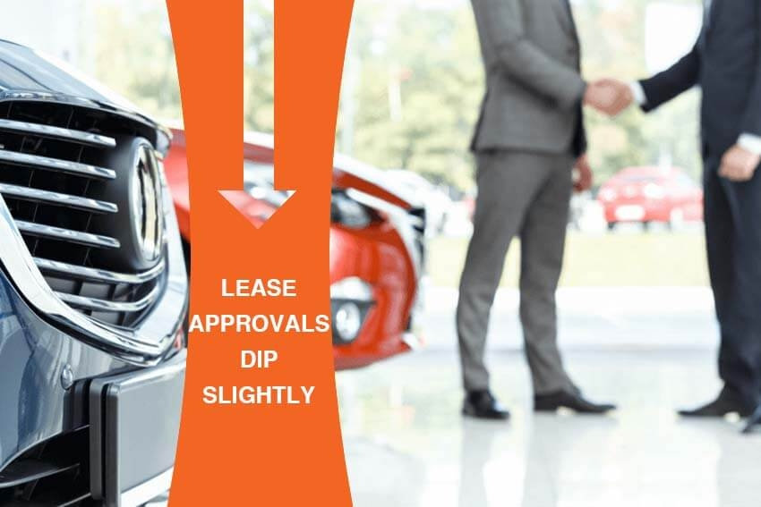Lease Approvals Dip Slightly