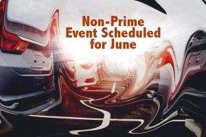Non-Prime Event Scheduled for June