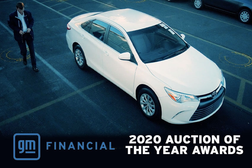 GM Financial Names Top Auctions