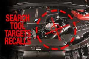 Search Tool Targets Recalls