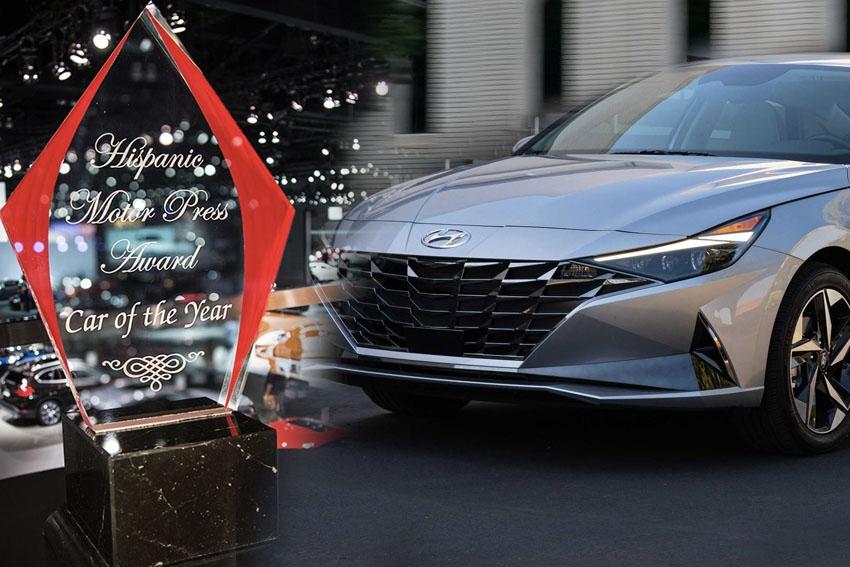 Hyundai Elantra Tops Hispanic Motor Press Awards