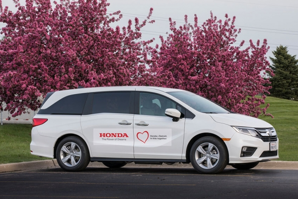 Hondas Transport Health Workers