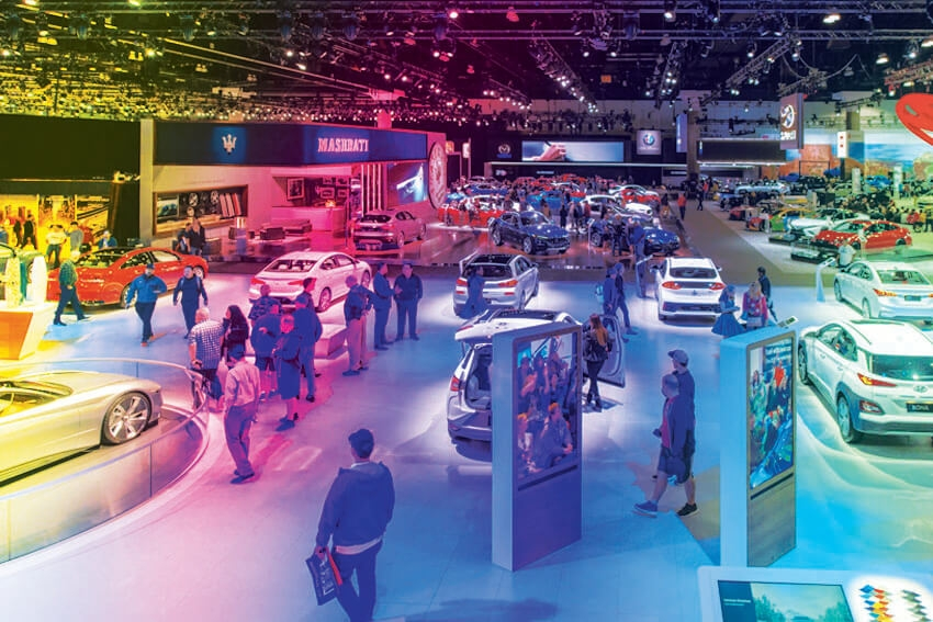 LA Auto Show Moves to Spring '21