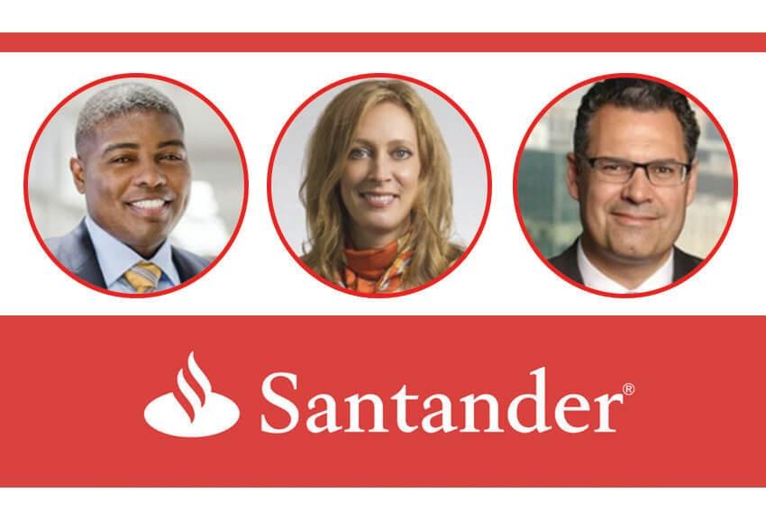 Santander Appoints Execs
